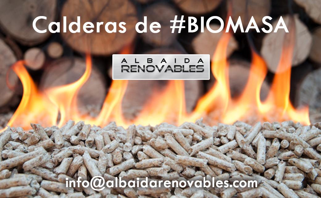 Calderas de Biomasa Albaida Renovables Gandia Ontinyent Xativa Alcoy Valencia