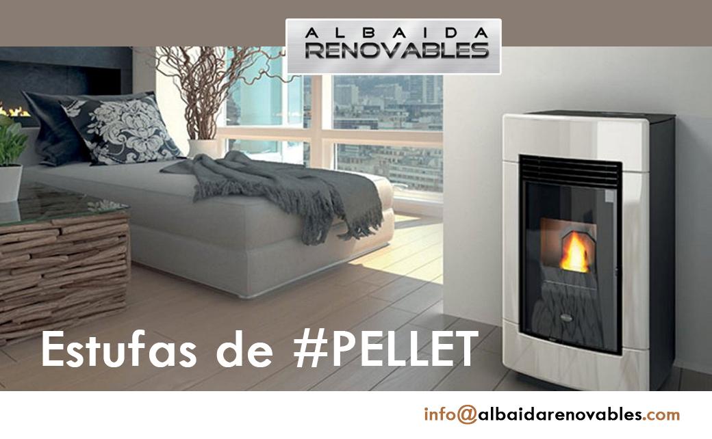 Estufas de Pellet Albaida Renovables Gandia Ontinyent Xativa Alcoy Valencia