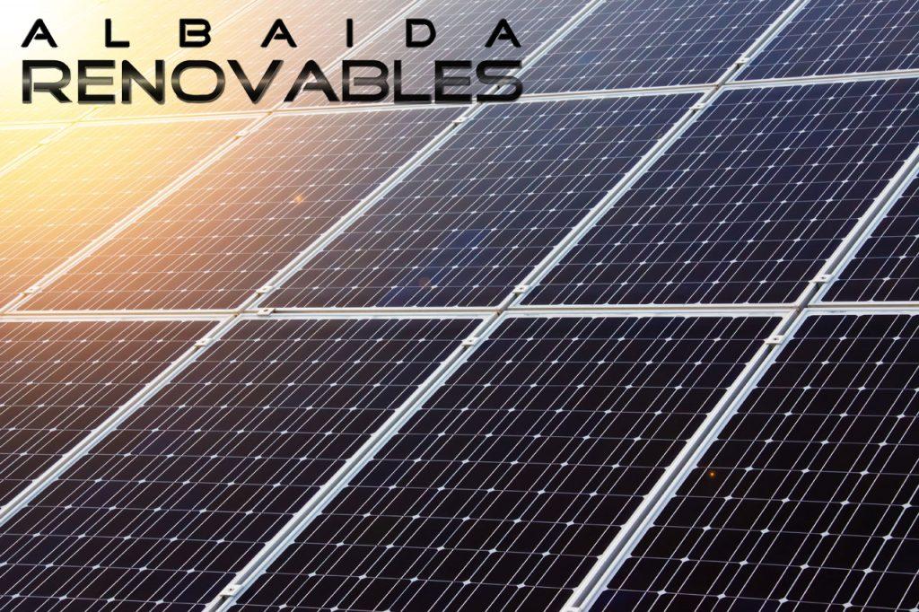 Paneles solares en Albaida Renovables