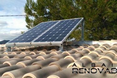 Instalación fotovoltaica aislada en Albaida Renovables