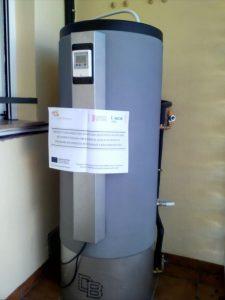 energía termosolar acumulador en Castelló de Rugat
