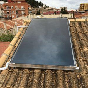 energía termosolar panel Castelló de Rugat