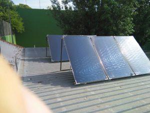 energía termosolar paneles solares en Pobla del Duc