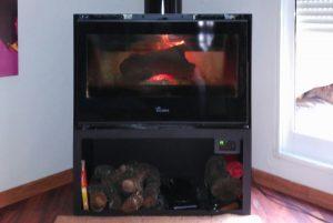 estufa de leña en Albaida