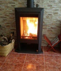 instalación de estufa de leña en Albaida