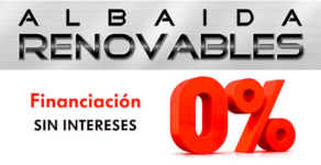 Financiación Albaida renovables